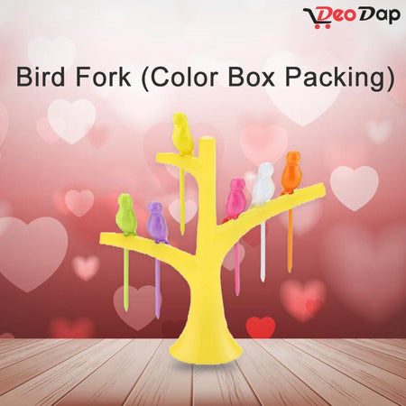 0056 Bird Fork (Color Box Packing) - Bulkysellers.com