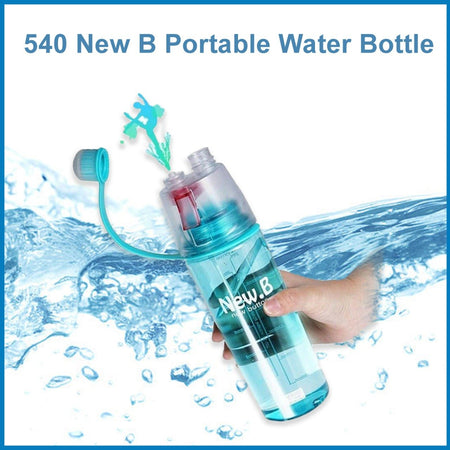 0540 New B Portable Water Bottle - DeoDap