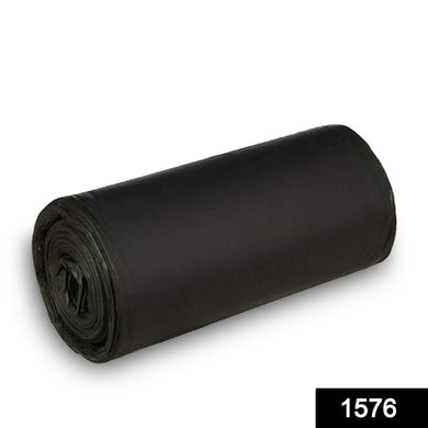 1576 Garbage Bags Large Size Black Colour (30 x 50) - 10 pcs - DeoDap