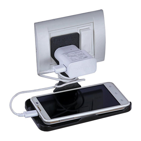 0291 Mobile Charging Stand Wall Holder - DeoDap