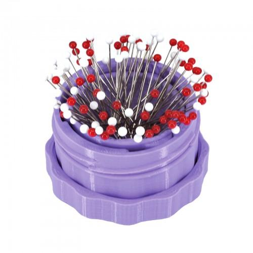 Magnectic Pin Cup - Standard - Lilac