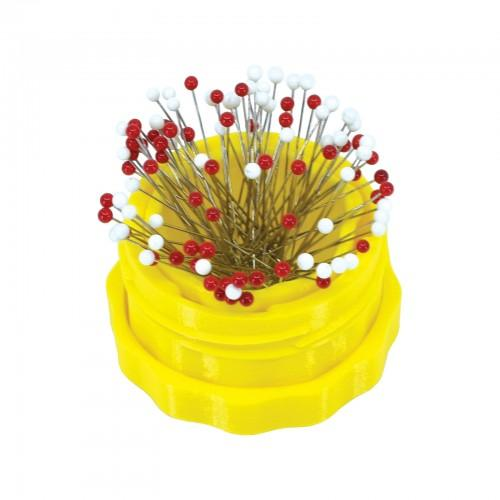 Magnectic Pin Cup - Standard - Yellow