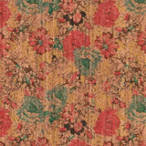 Sallie Tomato Cork Fabric - Pro Spring Bouquet