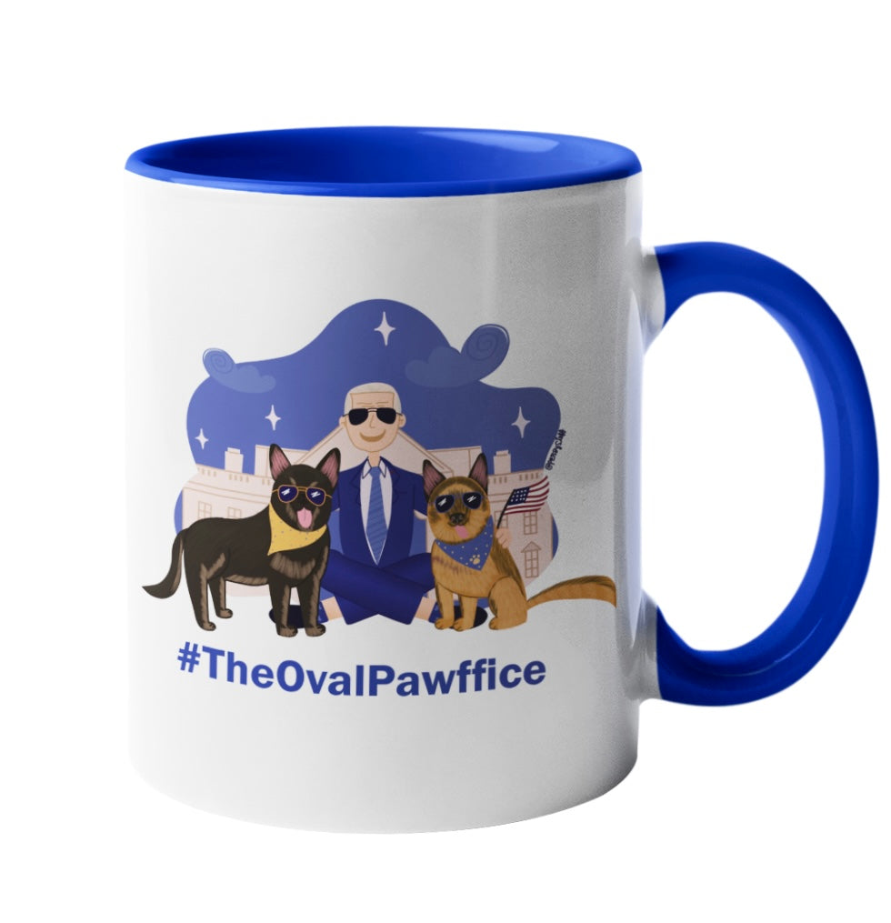 Pawsidential Portrait Pawsidential Mug