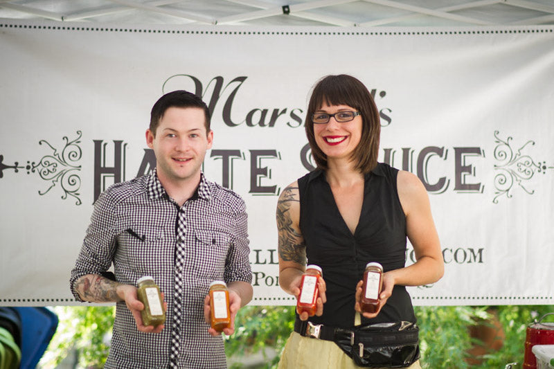 Haute! Haute! Haute! Introducing our partnership with Sarah Marshall