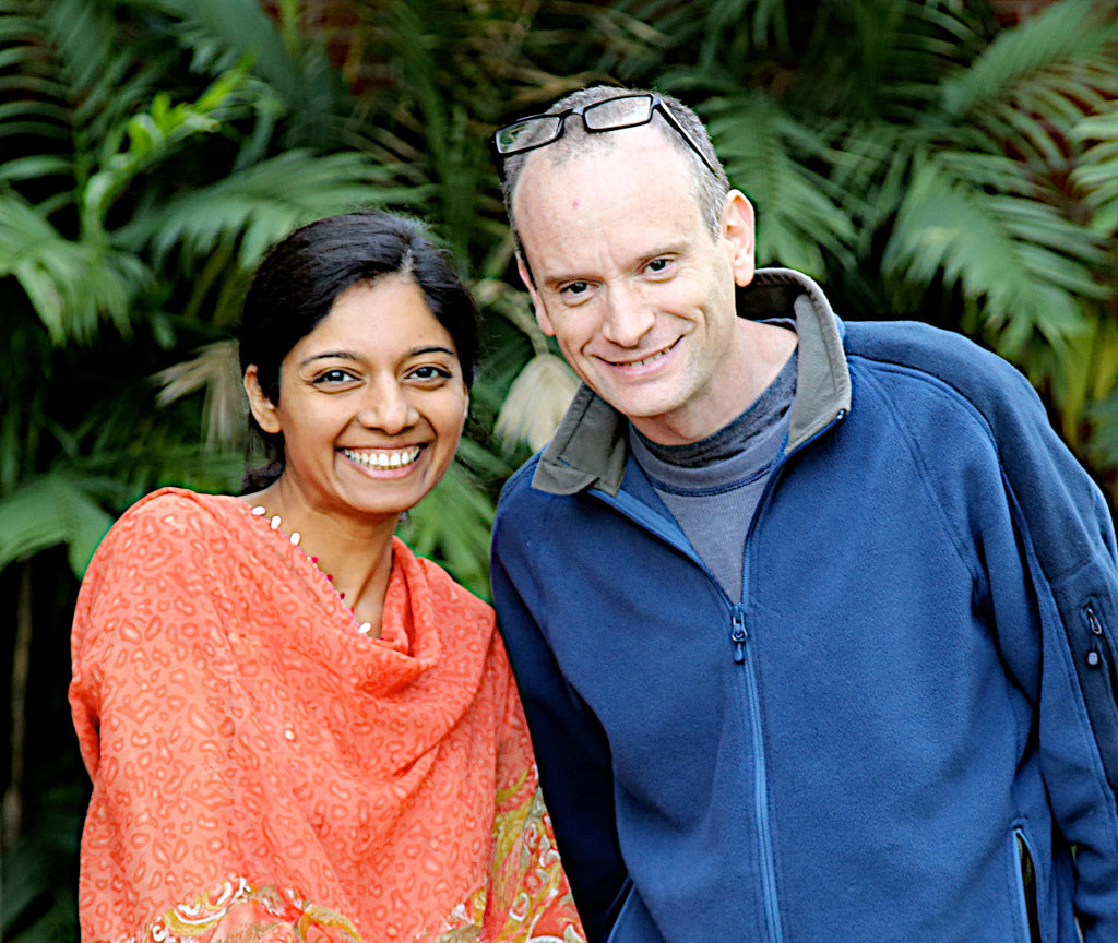 Actor Nirali Shastri-Hill and Director Barton Landsman for Reluctant Trading
