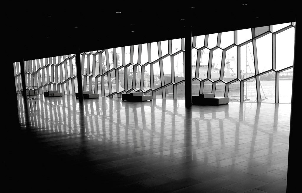 The Harpa in Reykjavik for Reluctant Trading