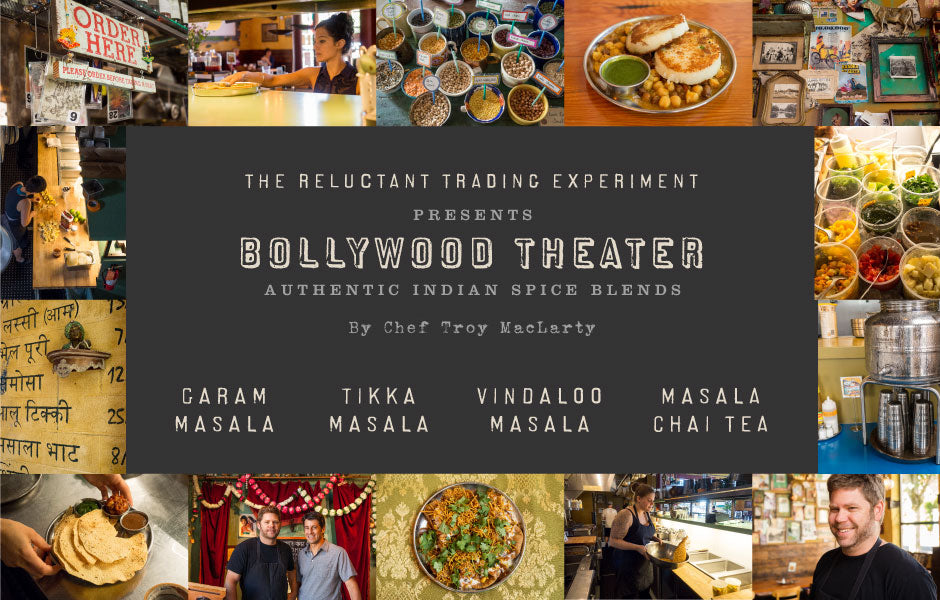 Bollywood Theater Authentic Masala Spice Collection by Chef Troy MacLarty
