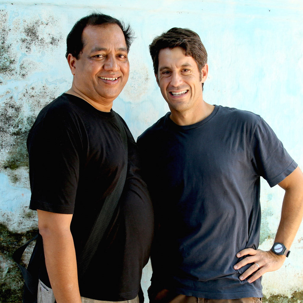 Divakar and Scott, November 2012