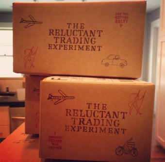 Each box is lovingly hand stamped by yours truly. Waste of time? Perhaps. But I enjoy getting a little ink on my hands.