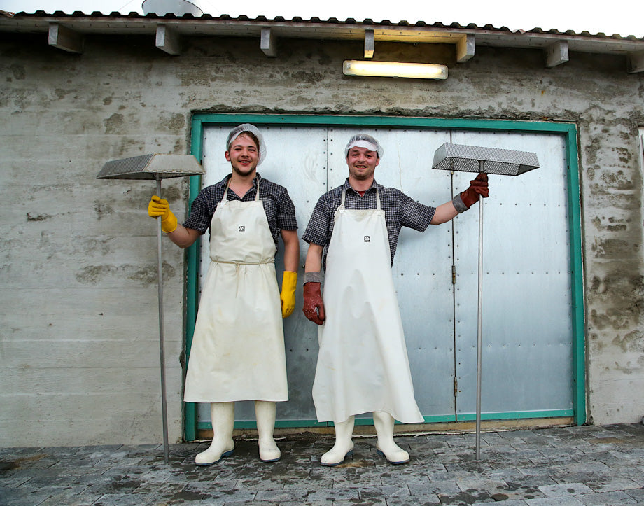 The salt workers of Iceland. These guys know what they're doing.