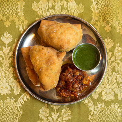 Bollywood Theater's delicious Samosas use Garam Masala