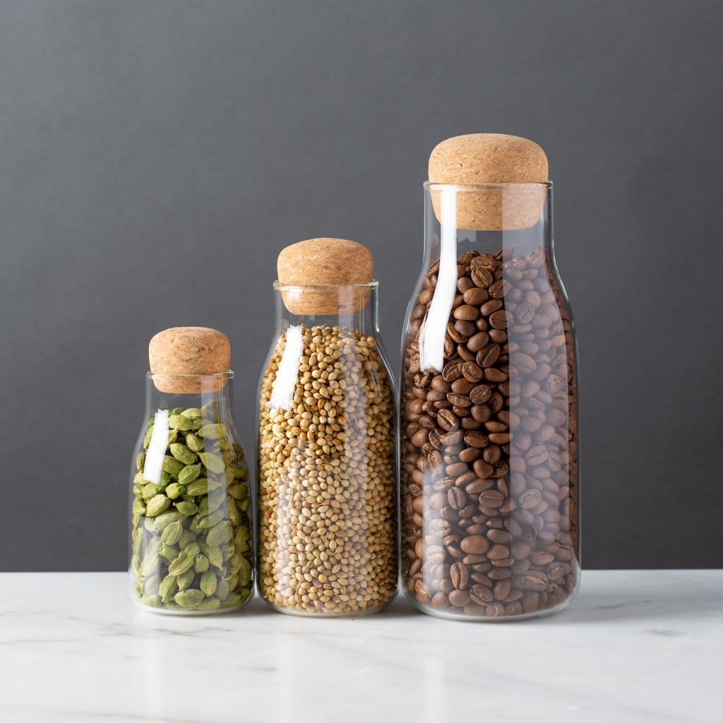 Kinto Bottlit Spice and Coffee Jars Modern