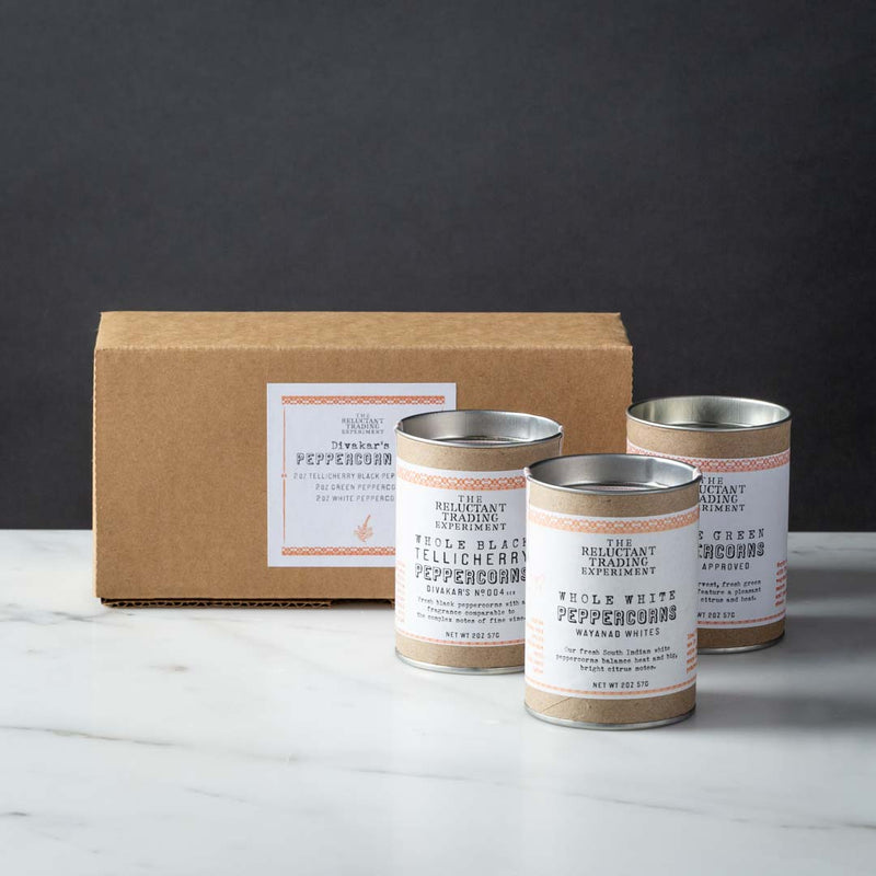 Divakar's Indian Peppercorn Trio Gift Box