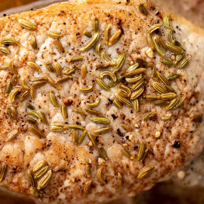 Fennel Seed Encrusted Pork Chops Reluctant Trading