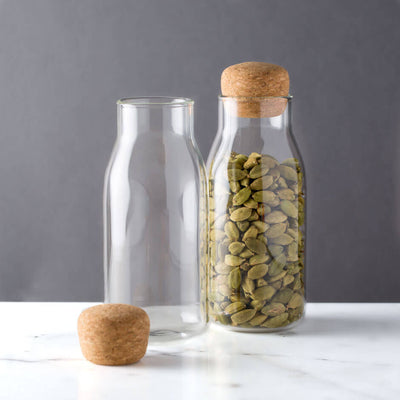 Kinto Bottlit 300ml Modern Spice Jar with Cork