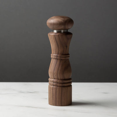 Modern Pepper or Salt Mill CrushGrind Wooden