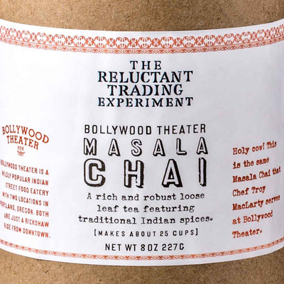 Bollywood Theater Masala Chai 8oz Tube