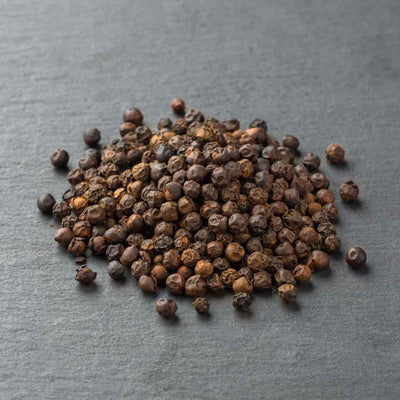 Aromatic Tellicherry Black Peppercorns in a 2oz Tube