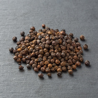 Our signature Whole Black Tellicherry Peppercorns Special Extra Bold