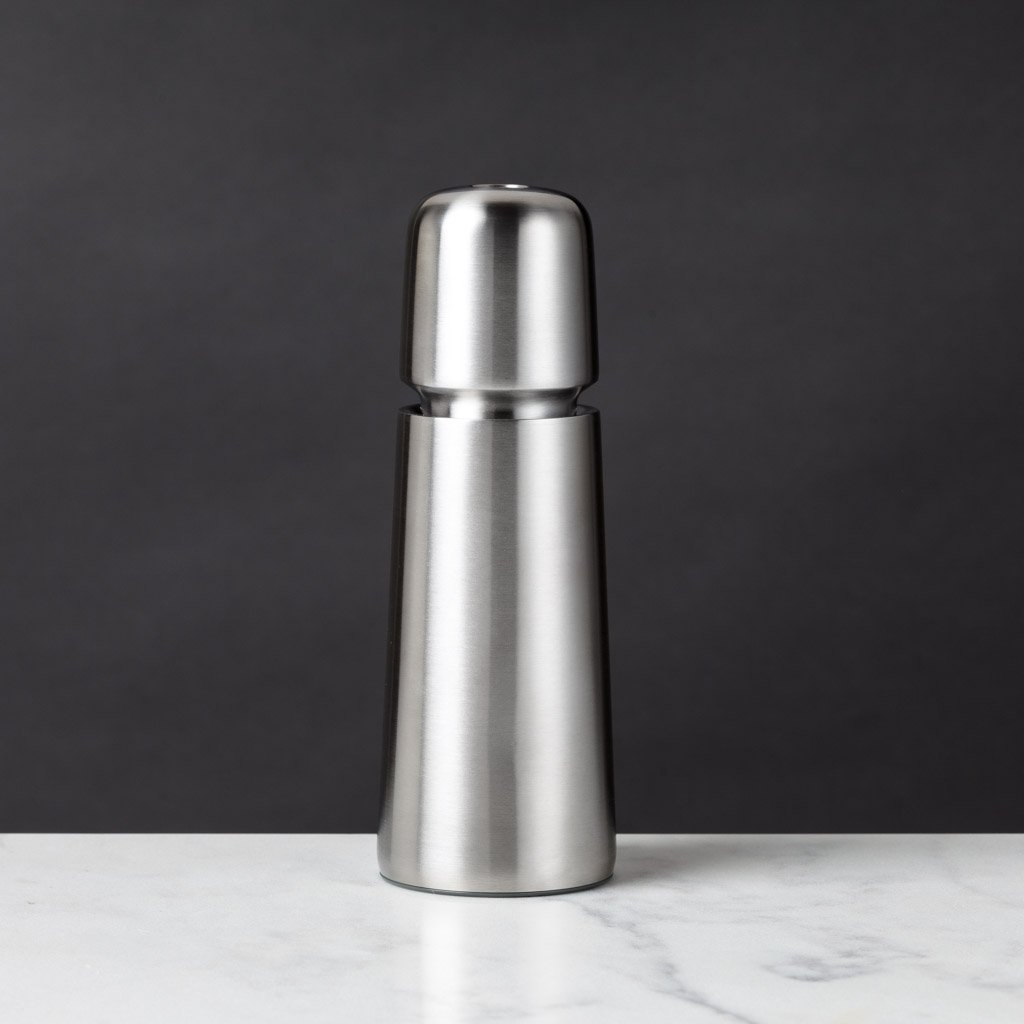"Jesper Stainless Steel Salt or Pepper Mill, 6.6h""-CrushGrind-The Reluctant Trading Experiment"