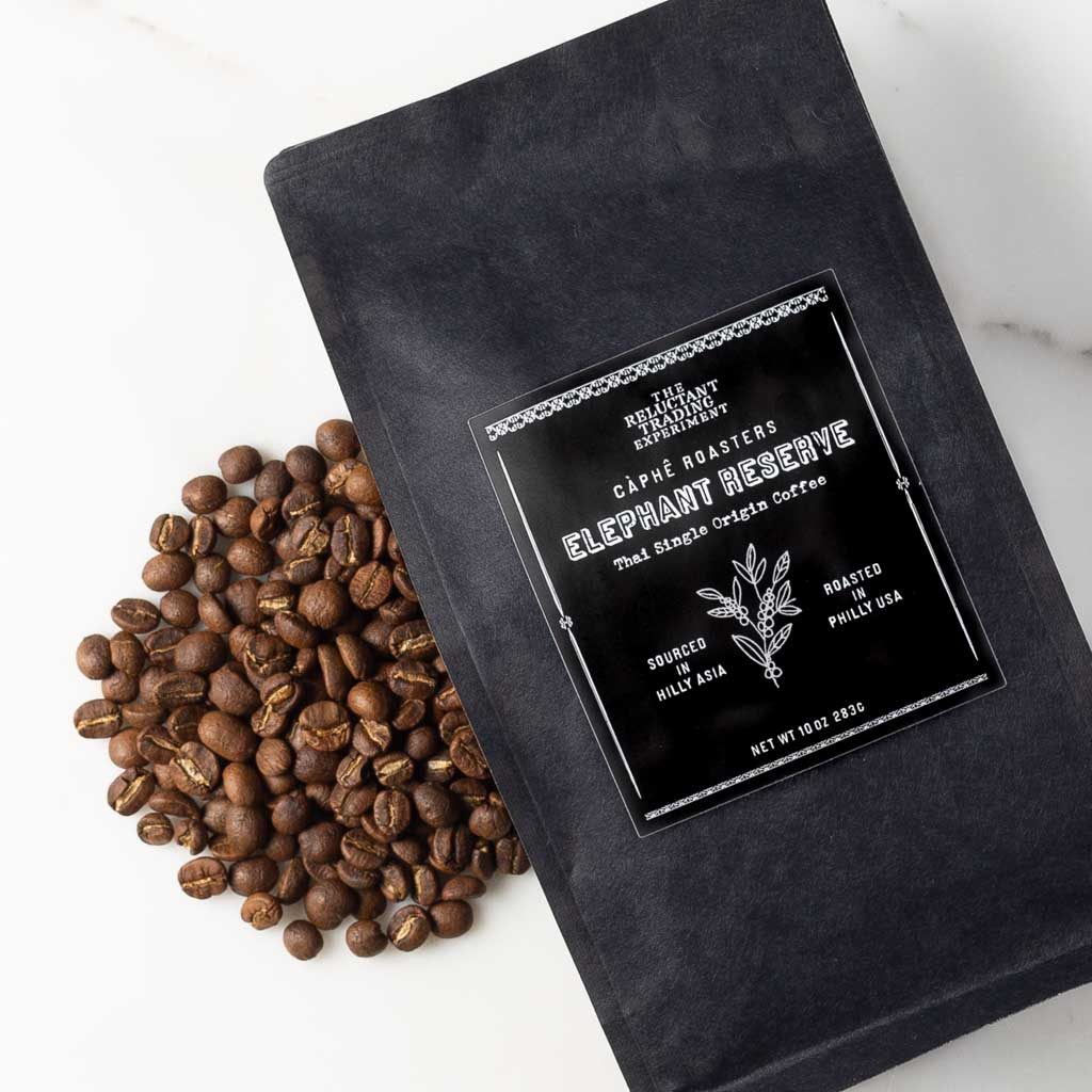 Elephant Reserve, Thai Single Origin Whole Bean Coffee, 10 oz Bag-Coffee-The Reluctant Trading Experiment