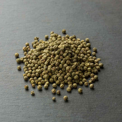 Green Peppercorns, citrus, medium heat
