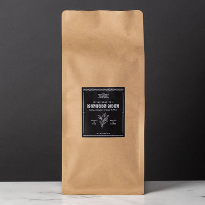 Indian Whole Bean Peaberry Arabica Coffee, 2 LB bag