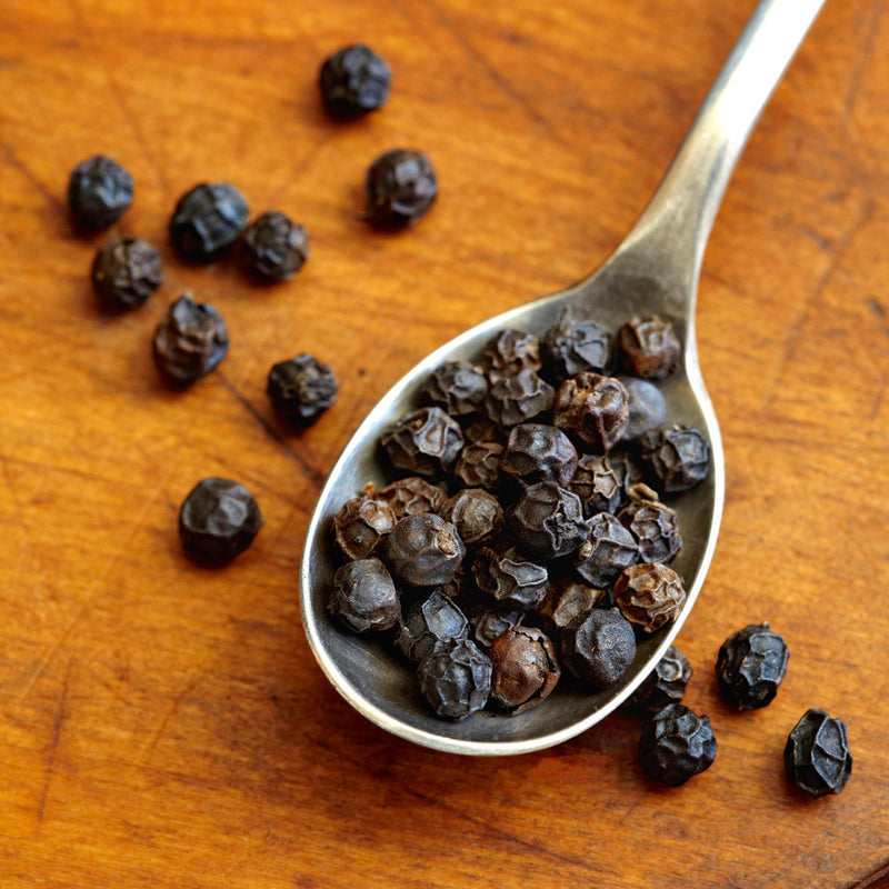 USDA Organic Whole Tellicherry Peppercorns fresh from India