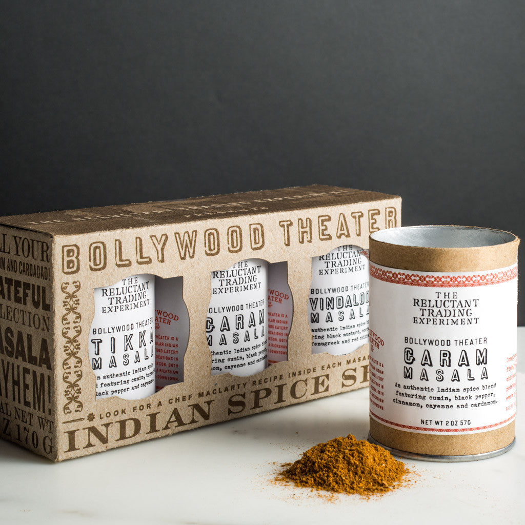 Bollywood Theater Indian Masala Spice Set