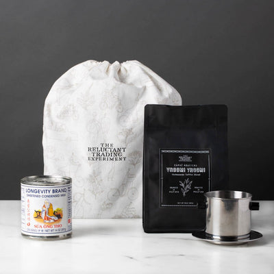 Vroom! Vroom! Authentic Vietnamese Coffee Starter Set-The Reluctant Trading Experiment-The Reluctant Trading Experiment