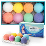 Bath bomb 8 pack colours