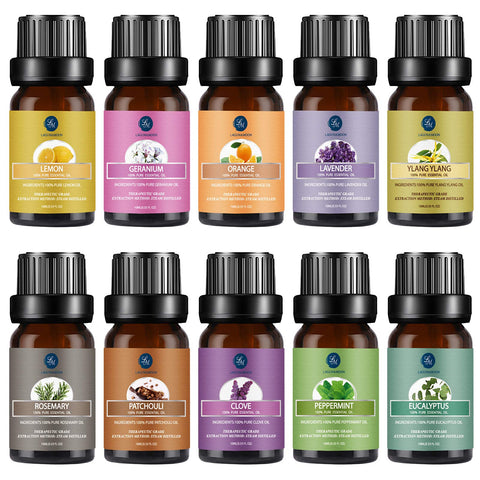 Essential oil gift set 10 pack scents