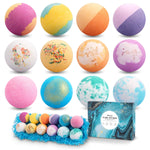 Bath bomb 12 pack colours