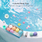 8 or 12 Pack Bath Bombs