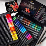 72 Watercolor Pencils Set - Color Coded