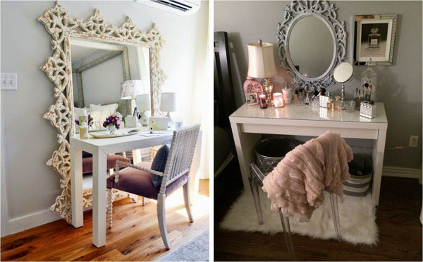 How To Style Your Makeup Vanity Table Firma Beauty