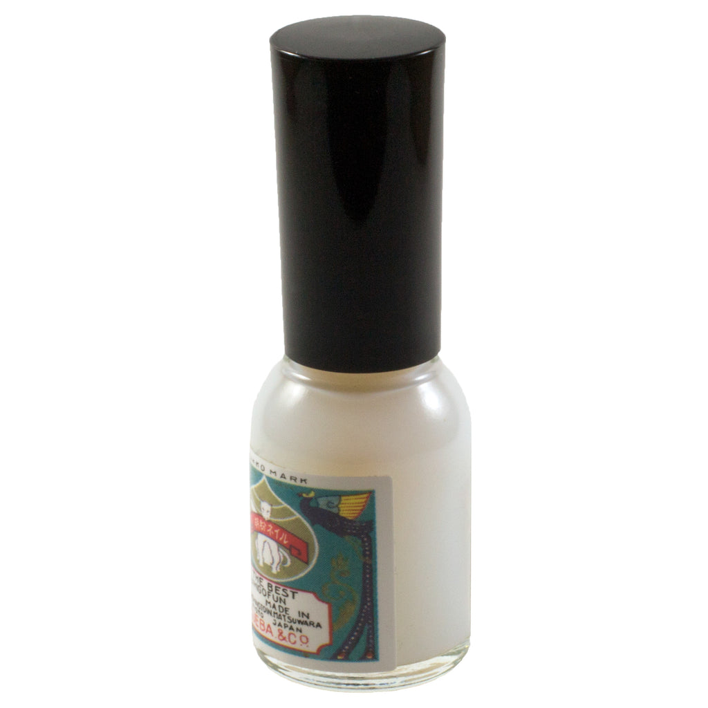 Clear Ueba Esou 'Gofun' natural nail polish