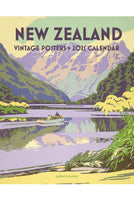 2021 Wall Calendar New Zealand Vintage Posters