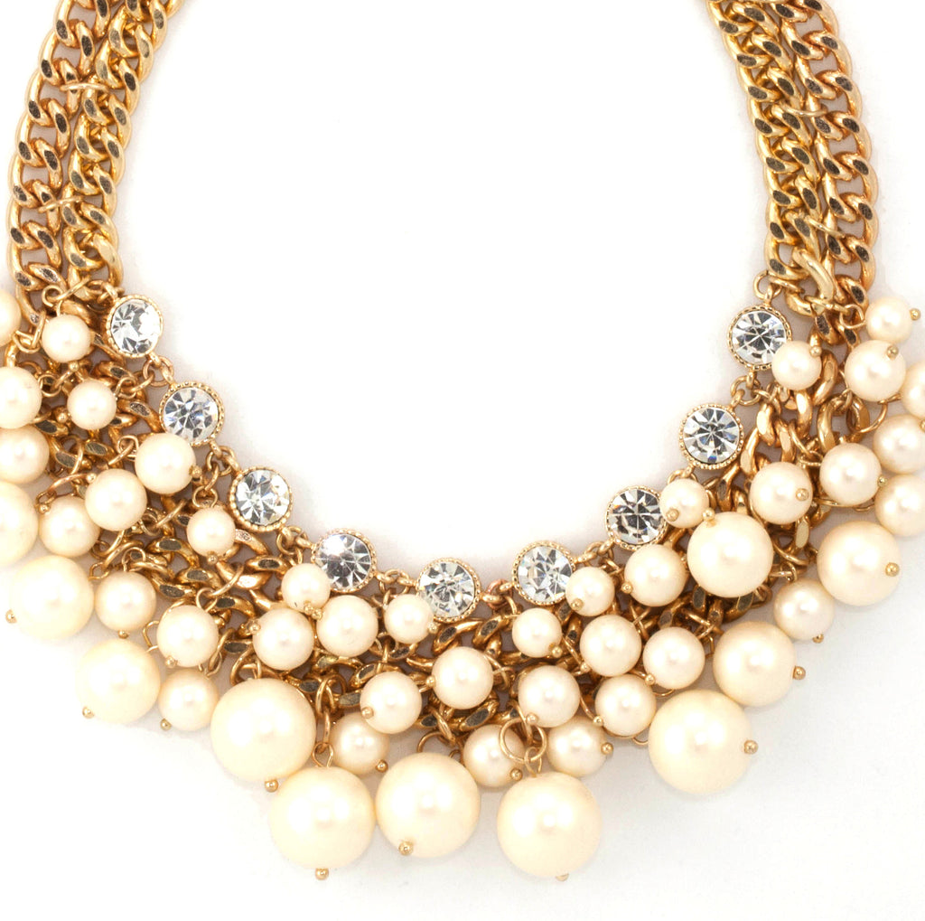 Multus Pearl Necklace - Statement Necklace -   - 2