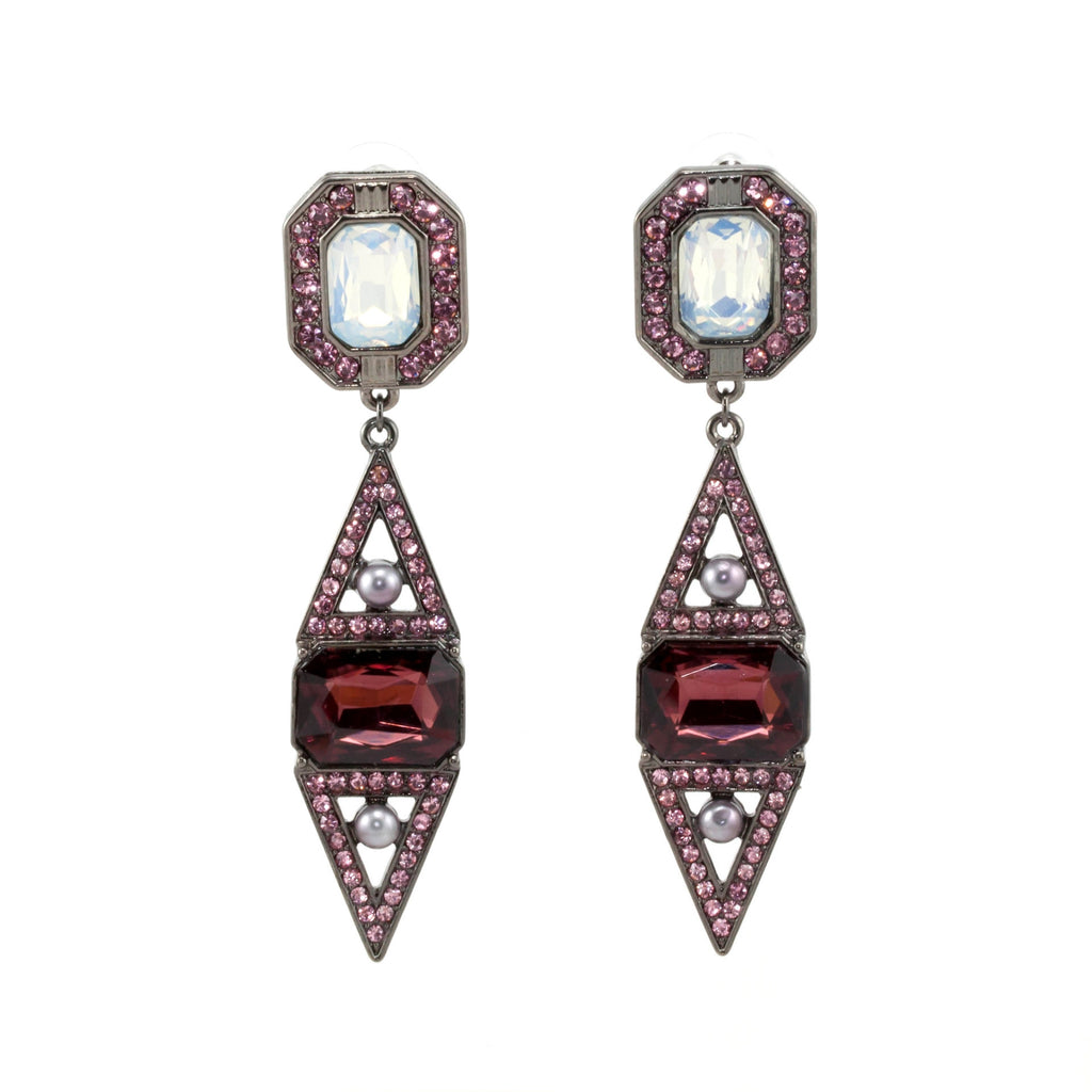 Estelle Earrings - Statement Earrings -   - 2