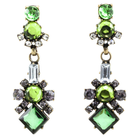 Madalina Earrings - Statement Earrings -   - 4