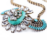 Princess Inca Necklace - Statement Necklace -   - 3