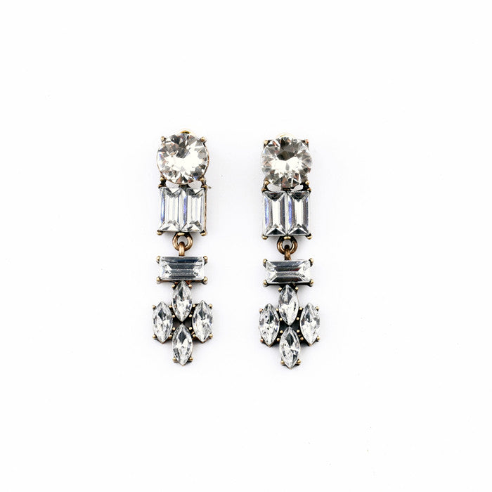 Lucy Frost Earrings - Statement Earrings -   - 1