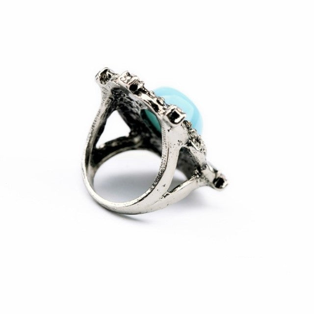 Mermaid Blue Ring - Ring -   - 2