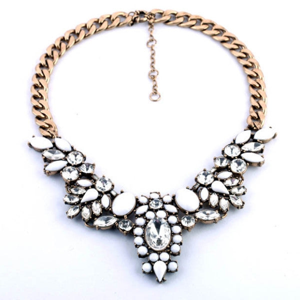 Dove Starlet Necklace - Statement Necklace -   - 1
