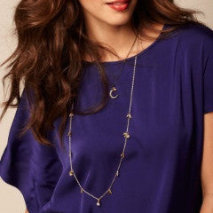 Rivet Long Necklace - Long Necklace -   - 4