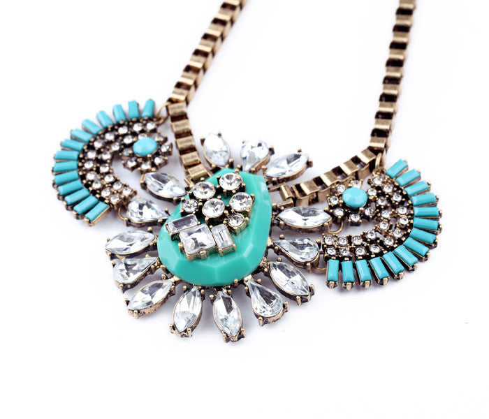 Princess Inca Necklace - Statement Necklace -   - 2