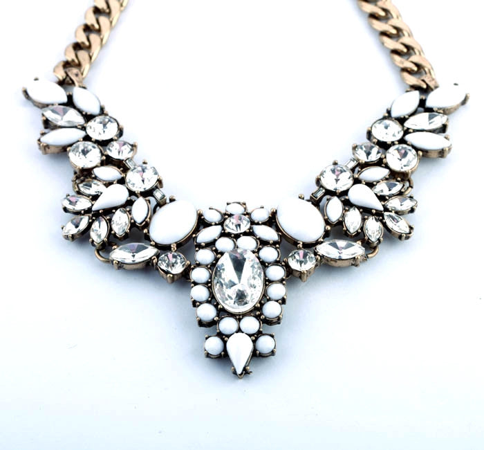 Dove Starlet Necklace - Statement Necklace -   - 2