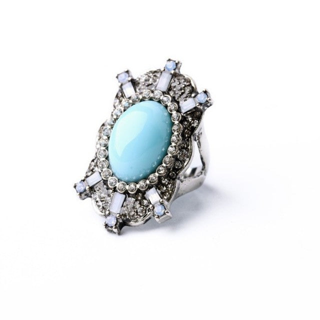 Mermaid Blue Ring - Ring -   - 1